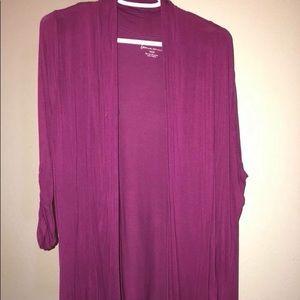 Gorgeous light magenta/purple cardigan.